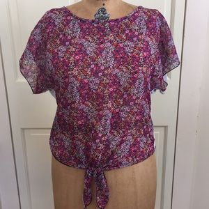Living Doll Medium Floral T-Shirt